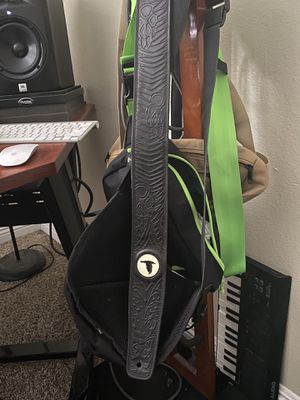 Custom Leather Guitar Strap for Sale in Los Angeles, CA