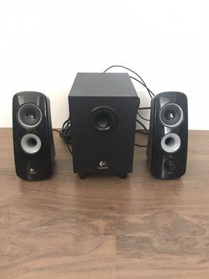Logitech Speaker System Z323 with Subwoofer for Sale in Seattle, WA