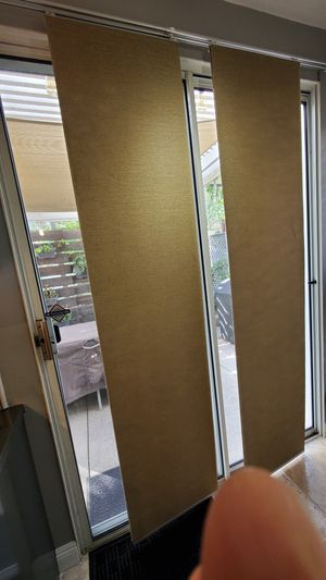 Sliding Panels, Vertical Blinds Doors, Open Spaces and Room Divide for Sale in Laguna Niguel, CA