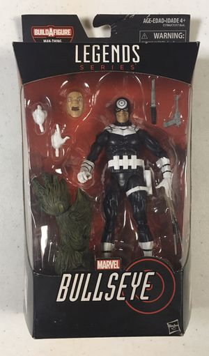 MISB Marvel Legends Bullseye Action Figure from BAF Manthing Wave Superheroes Toys for Sale in Chicago, IL
