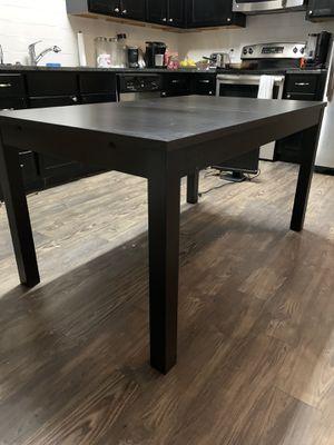 IKEA kitchen table w/leaf for Sale in Dallas, TX