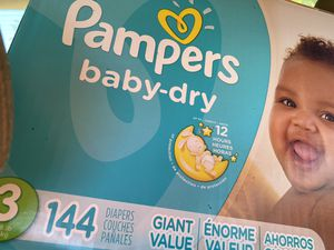 Brand new pampers size 3 for Sale in Vallejo, CA