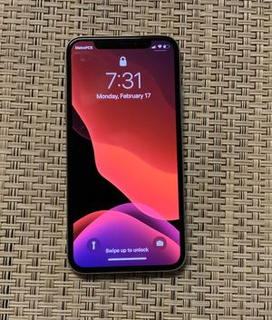iPhone X unlocked with Apple care for Sale in Mountain View, CA