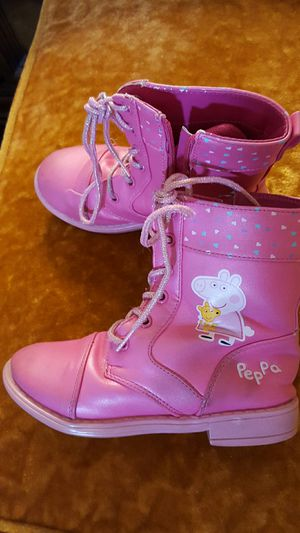 Girls boots Pepa pig for Sale in Allentown, PA