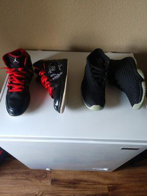 """Jordan 1 """"Hof"""" Jordan futures """"premium Glow"""" for Sale in Houston, TX"""