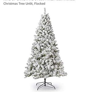 6 Foot Flocked Christmas Tree Unlit for Sale in Washington, DC