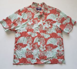 Vintage 80s 90s LIGHTNING BOLT Hawaiian Shirt Aloha Tropical Surf Skate USA Mens Lg/XL for Sale in Chandler, AZ
