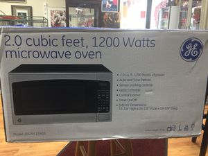 GE 2.0 cubic ft Microwave Oven,New Never Used for Sale in Silver Spring, MD