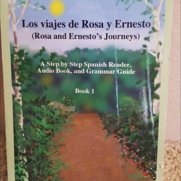 Los viajas de Rosa y Ernesto by R. Sturam required book for Spanish SCC