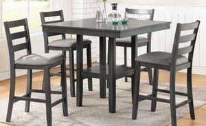 $399 5 PIECES DINING SET INCLUDED TABLE WITH 4 CHAIRS for Sale in Chino, CA