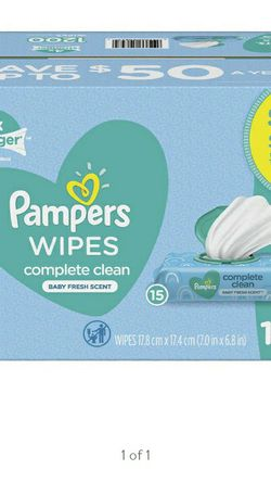 Pampers Baby Wipes ((NEW BOX)) for Sale in Fontana,  CA