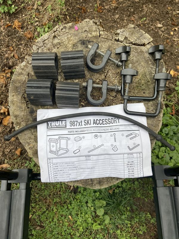 Thule 987xt Ski Rack accessory