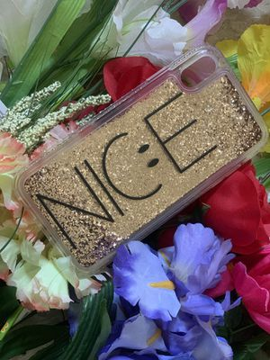 iPhone XS phone case- nice moving glitter for Sale in Buffalo, NY