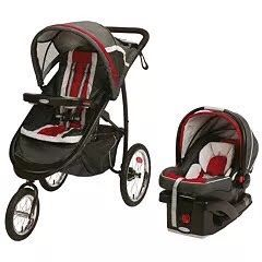 Graco FastAction Fold Jogger Click Connect Travel System Stroller Only $ 120 for Sale in Atlanta, GA