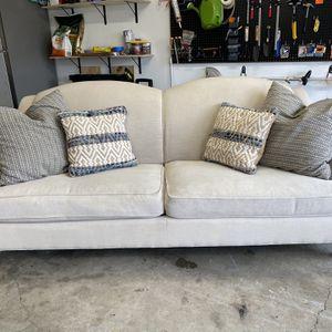 Magnolia Creme Farmhouse Sofa - FREE DELIVERY for Sale in Plano, TX