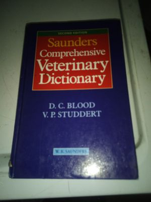 Saunders comprehensive veterinary dictionary for Sale in Stockton, CA
