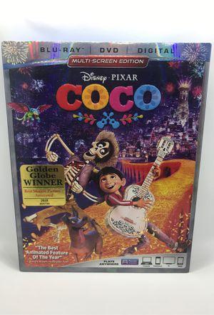 Disney's Coco Blu-ray DVD for Sale in Corona, CA