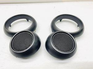 02 - 06 Mini Cooper Door Panel Handle Speaker Tweeter Trim Cover Pair Used OEM for Sale in Palos Hills, IL