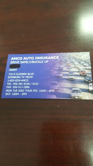 Insurance for Sale in TX, US