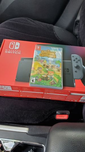 Nintendo Switch and Animal Crossing NEW for Sale in Downey, CA