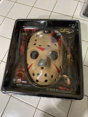 Friday the 13th part 4 neca mask for Sale in Riverside, CA