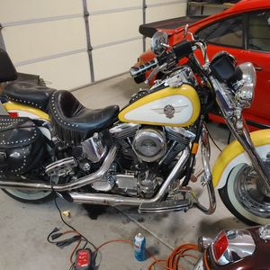 1995 Harley-davidson Early Fat Boy, Soon To Be A Real Classic Café Raiser for Sale in Madera, CA