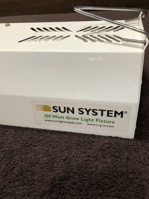 Sun System 150 watt HPS Grow Light for Sale in Oakland, CA