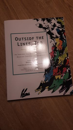 Outside the Lines, Too color book for adults, teens, anyone for Sale in Mill Creek, WA