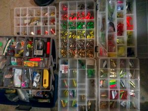 Trade fishing tackle way too much to show for Sale in Denver, CO