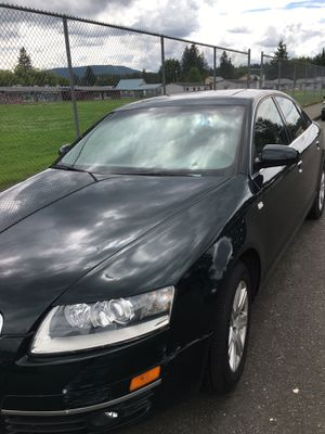 2005 Audi A6 148000 miles clean inside and out clean title for Sale in Monroe, WA