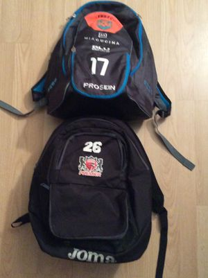Basketball sports backpack joma $10 each for Sale in Davie, FL