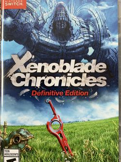 New Xenoblade Chronicle Definitive Edition for Nintendo Switch for Sale in Lynnwood,  WA