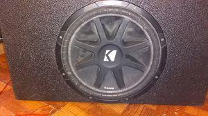 15 kicker comp. for Sale in Dallas, TX
