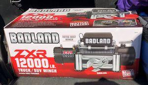 Brand new Badlands ZXR 12,000 winch Jeep Wrangler Cherokee xj tj for Sale in El Cajon, CA