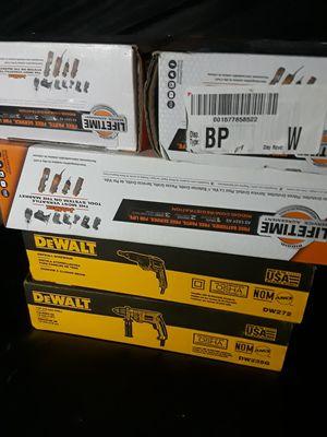 DeWalt Ridgid power tools new in box asking 275 for all. Need to sell asap. DeWalt Ridgid power tools new in box for Sale in Austin, TX