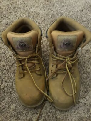 Steel toe womens work boots for Sale in Lutz, FL