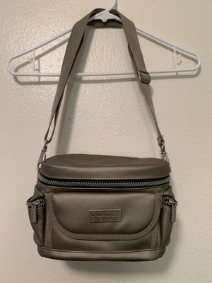 Glacier Gear Small Cooler Grey Silver Zipper Pockets Picnic Camping Hiking Gift for Sale in Colorado Springs, CO