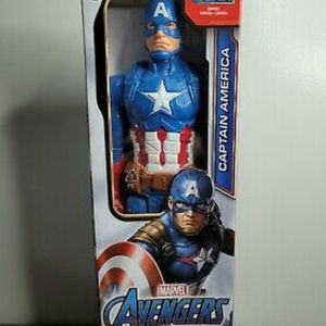 Marvel Titan Hero Series Captain America 12-inch Action Figure. for Sale in City of Industry, CA