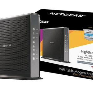 NETGEAR Nighthawk Dual-Band AC1900 Router with 24 x 8 DOCSIS 3.0 Cable Modem for Sale in Fort Lauderdale, FL