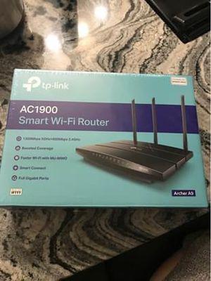 TPLink 1900 smart WiFi router for Sale in Tampa, FL