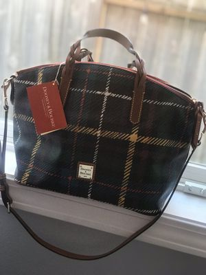 New Dooney &Bourke Multi colored plaid satchel for Sale in Keizer, OR