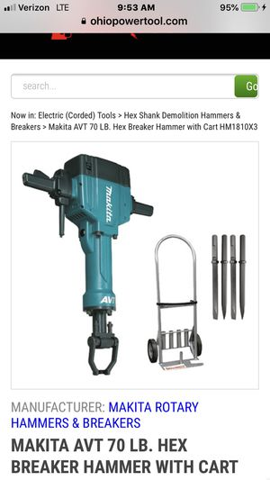 Makita Electric Jackhammer for Sale in Manassas, VA