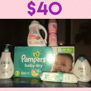 Size 3 Boxed Pampers Bundle for Sale in Newport News, VA
