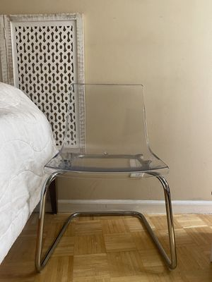 Clear Chair 2 for 60 or $40 each for Sale in West Hollywood, CA