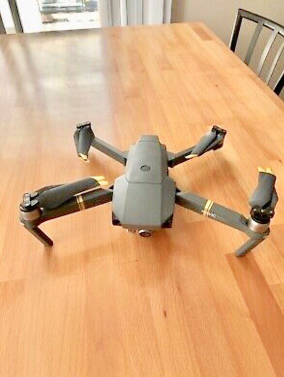 DJI Mavic Pro Quadcopter with Remote Controller MINT condition with accessories!. Condition is Used.