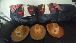 Kid's western clothes (vest and hat) for Sale in Phoenix, AZ
