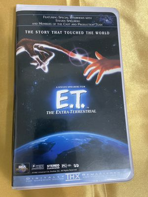 E.t. The Extra-Terrestrial VHS Video Tape for Sale in Miramar, FL