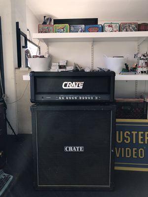 CRATE Guitar Amplifier with 4X12 Speaker Cabinet Pawn Shop Casa de Empeño for Sale in Vista, CA