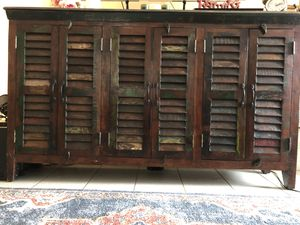 One of a Kind Amish Credenza transported back from PA for Sale in San Diego, CA