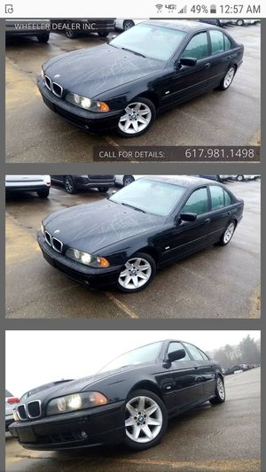 2001 BMW 530i ---- leather ----sunroof for Sale in Acton, MA